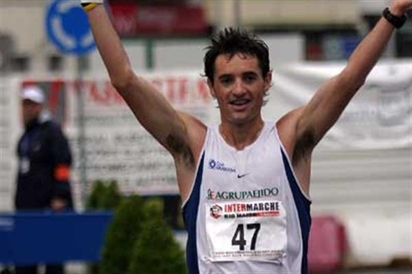 Francisco Fernandez of Spain wins 20km in Rio Maior (Luis Lopes)