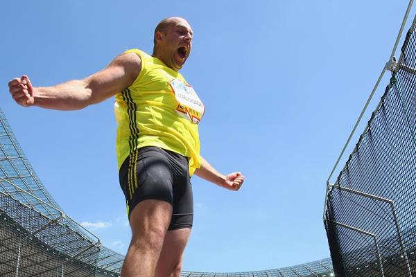 Poland's Piotr Malachowski in the Discus (Getty Images)