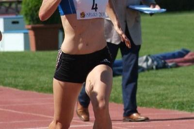 Arles Heptathlon winner Blandine Maisonnier (Lorenzo Sampaolo)