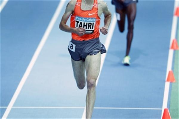 Bouabdellah Tahri competing in Liévin over 3000m (Pascal Bonniere)