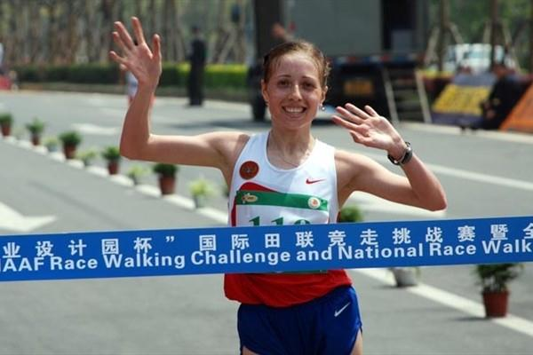 Olga Kaniskina wins in Wuxi (Chinese Federation)