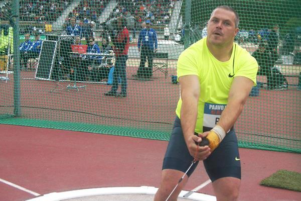 Krisztian Pars at the 2014 Paavo Nurmi Games in Turku (Mirko Jalava)