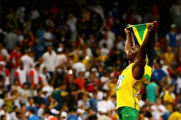 King of the sprinting world: Olympic champion and world record holder Usain Bolt (Getty Images)
