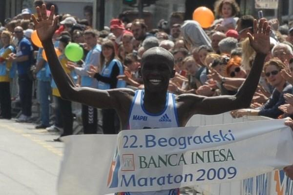 In his debut, Victor Kigen takes the Belgrade marathon title (Belgrade Marathon organisers)