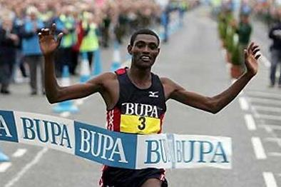 Dejene Berhanu wins the Great North Run (Getty Images)