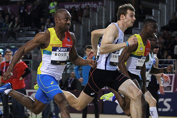 Christophe Lemaitre wins the French indoor 60m title (Jean-Pierre Durand)