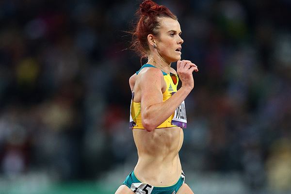 Australia's Eloise Wellings in action in the Olympic 10,000m final (Getty Images)
