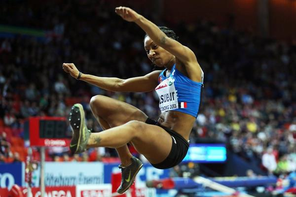 French long jumper Eloyse Lesueur (Getty Images)