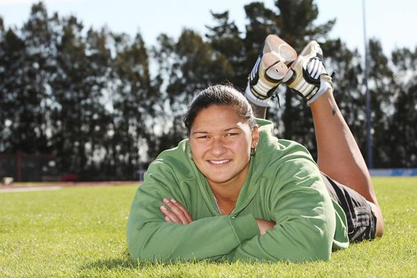 World and Olympic Shot Put champion Valerie Adams (Getty Images)