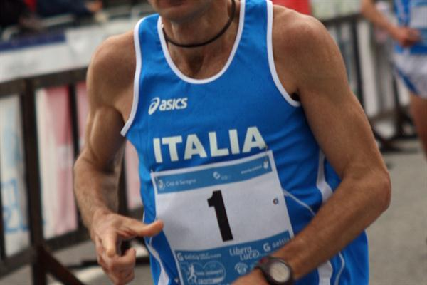 Giorgio Calcaterra at the 26th IAU World Championships  (Jan Vandendriessche)