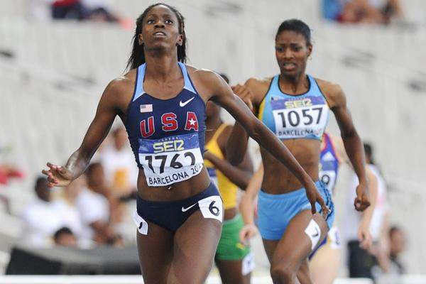 Ashley Spencer of United States wins the Women's 400 metres Final on the day four of the 14th IAAF World Junior Championships (Getty Images)