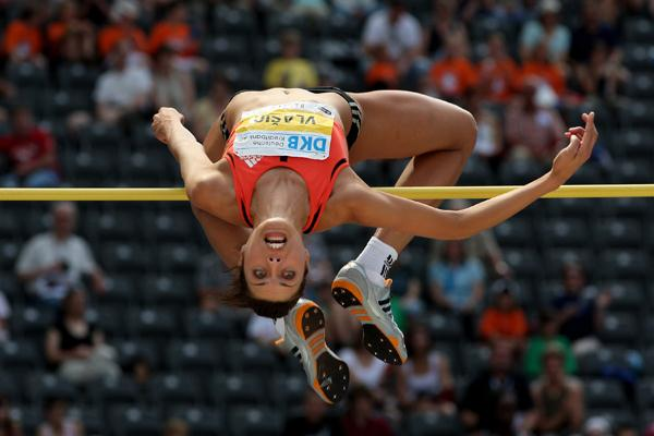 Blanka Vlasic wins the high jump in Berlin (Getty Images)
