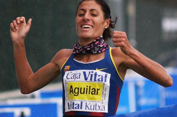 Spain's Alessandra Aguilar wins in Llodio (Alfambra Fundación ANOC)