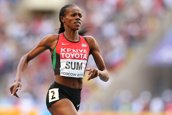 Eunice Sum in the 800m at the IAAF World Championships (Getty Images)