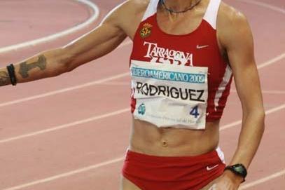 Natalia Rodríguez after her 3000m victory in Huelva (Javier Aznar)