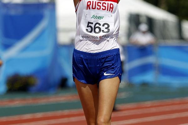 Elena Lashmanova adds World Junior gold to the World Youth title she won last year (Getty Images)
