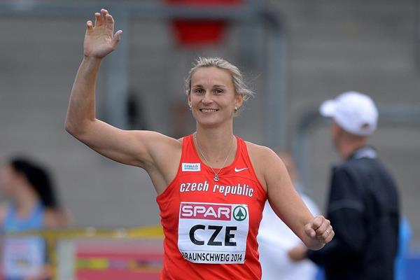 Barbora Spotakova at the 2014 European Athletics Team Championships (Getty Images)