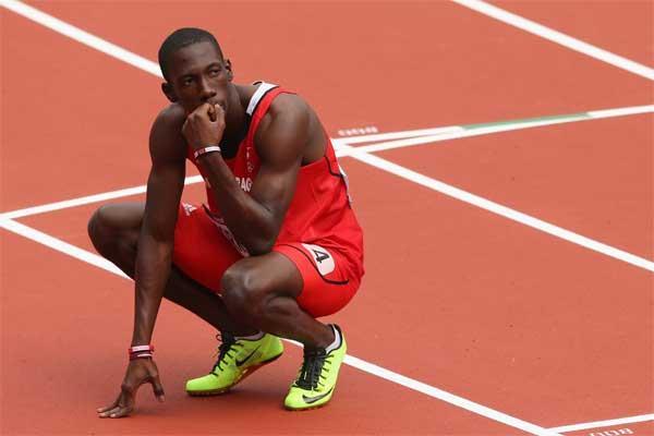 400m runner Rondell Sorrillo of Grenada (Getty images)