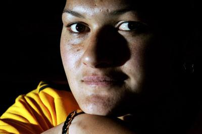 Valerie Vili on the eve of the IAAF World Cup in Athens (Getty Images)