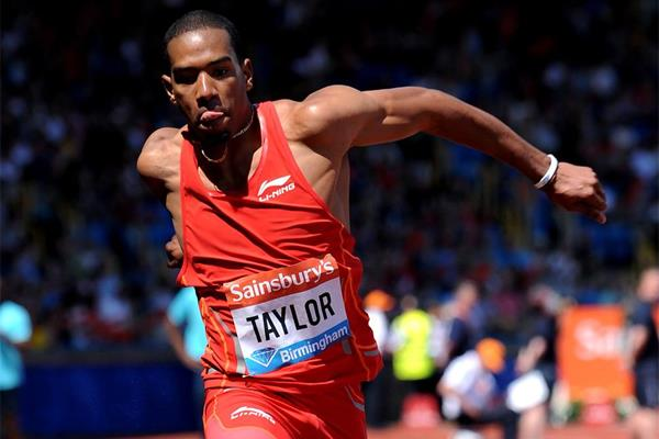 Christian Taylor, winner of the Triple Jump at the Birmingham Diamond League (Mark Shearman)