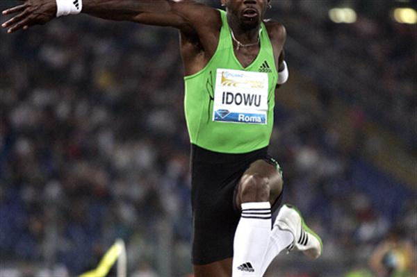 Phillips Idowu takes impressive Triple Jump victory in Rome (Giancarlo Colombo)