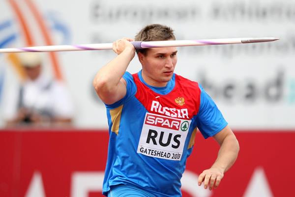 Dmitri Tarabin at the 2013 European Team Championships (Getty Images)