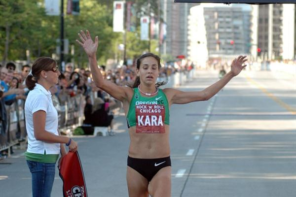 Kara Goucher wins her final pre-Berlin test in Chicago (organisers)