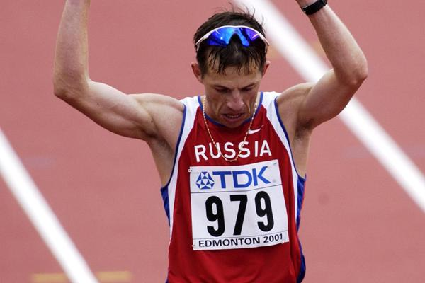 Ilya Markov (RUS) - 1999 World champion and 2001 silver medallist - 20km Race Walk (Getty Images)