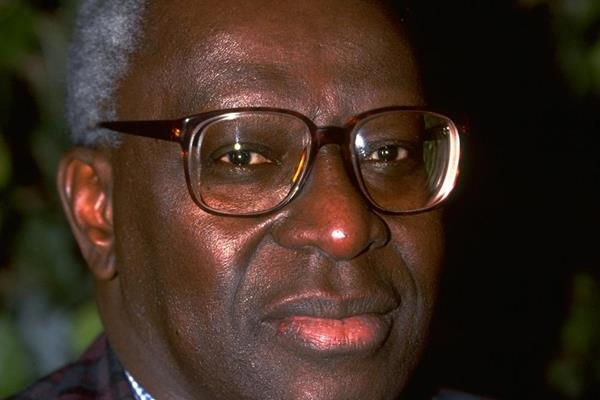 Acting President and Senior Vice President Lamine Diack in 1997 (Getty Images)