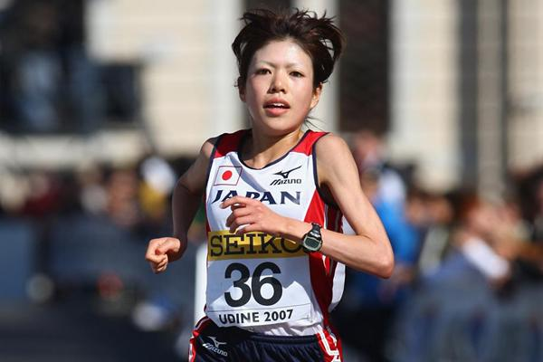 Chisato Osaki of Japan during the World Road Running Champs in Udine 2007 (Getty Images)