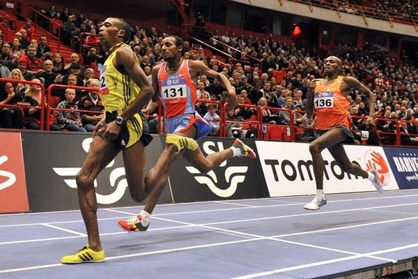 Augustine Choge prevails in hot 3000m in Stockholm (2010) (Hasse Sjögren)
