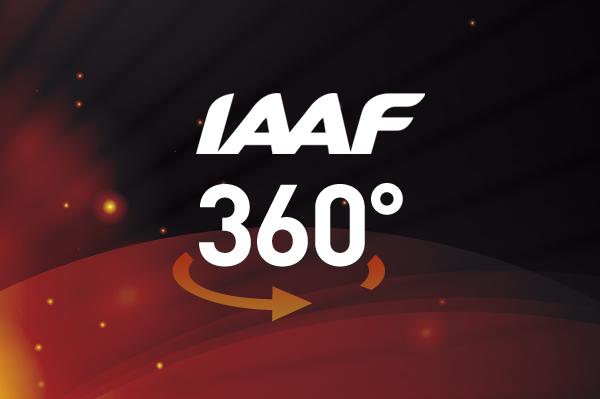 IAAF 360° Video Logo (IAAF)
