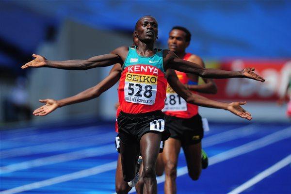 William Malel Sitonik, World Youth 3000m champion (Getty Images)