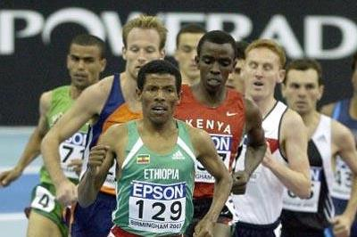 Haile Gebrselassie (ETH) - 3000m Heats (Getty Images)