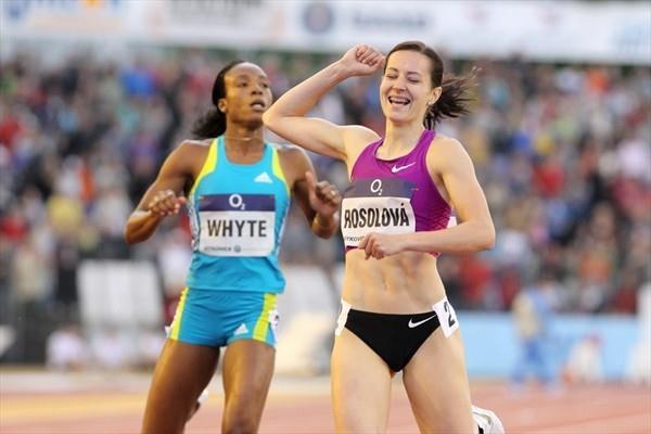 Ostrava 400m surprise Denisa Rosolova (www.graf.cz)