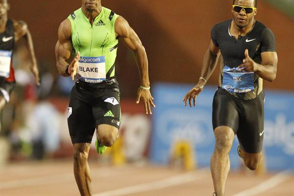 Yohan Blake runs to ther second fastest 200m time in history (Gladys Chai van der Laage)