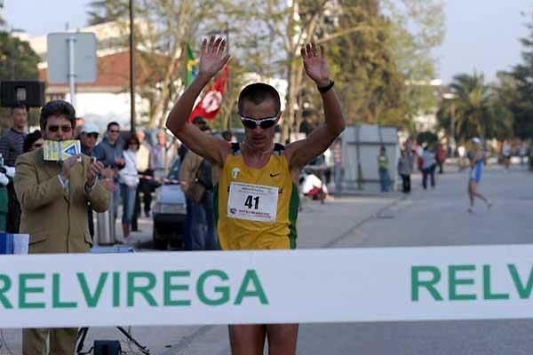 Ivano Brugnetti of Italy wins in Rio Maior (Marcelino Alemeida)