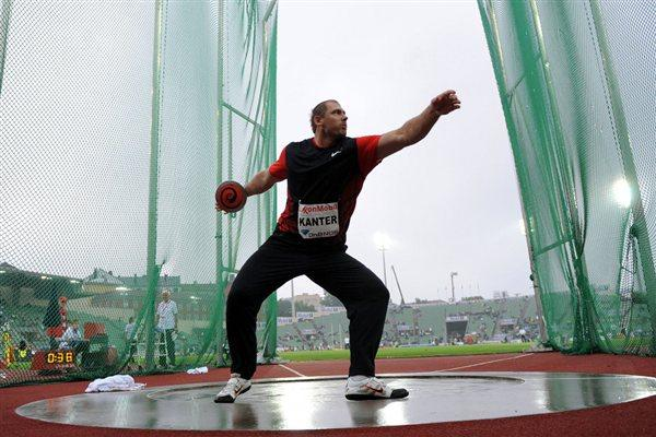 Another Samsung Diamond League victory for Gerd Kanter, this time in Oslo (Hasse Sjögren)