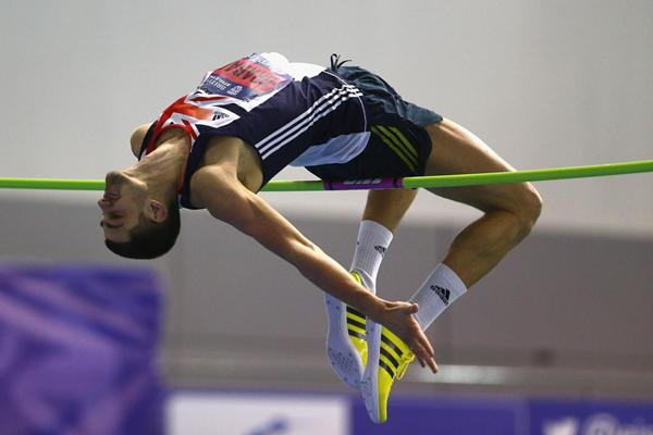 Robbie Grabarz at the 2013 the UK Indoor Championships in Sheffield (Getty Images)