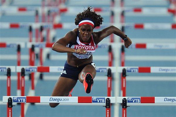 Tiffany Porter of Great Britain is qualified for the women's 100 metres hurdles final (Getty Images)