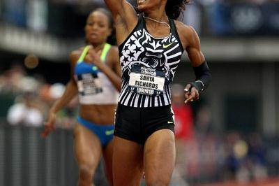 Commanding victory for Sanya Richards in Eugene (Getty Images)