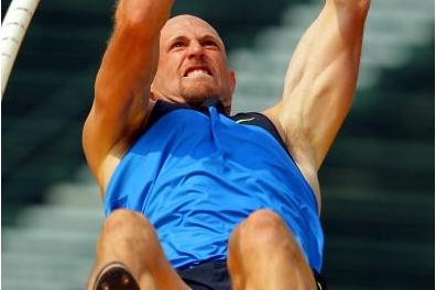Tom Pappas in the 2008 US Olympic Trials (Getty Images)