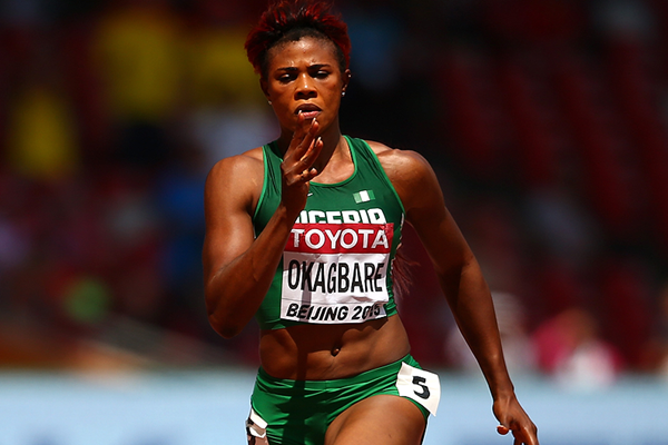 Blessing Okagbare in the 100m at the IAAF World Championships Beijing 2015 (Getty Images)