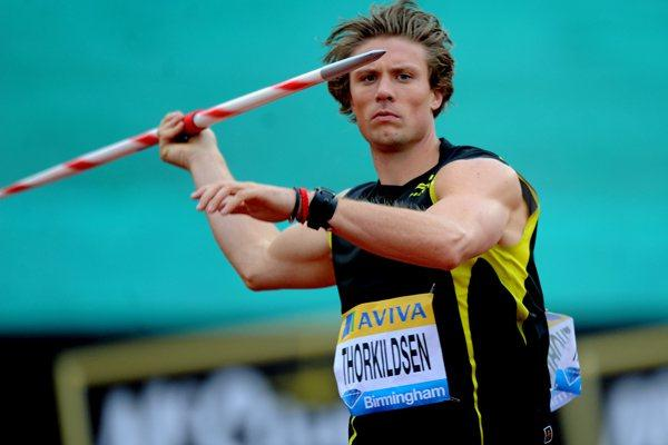 Andreas Thorkildsen at the Aviva Birmingham Grand Prix – Samsung Diamond League  (Mark Shearman)