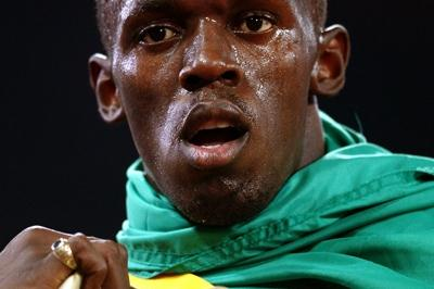 All gold for Usain Bolt of Jamaica (Getty Images)