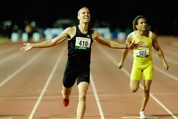 Australian 400m champion Ben Offereins (Getty Images)