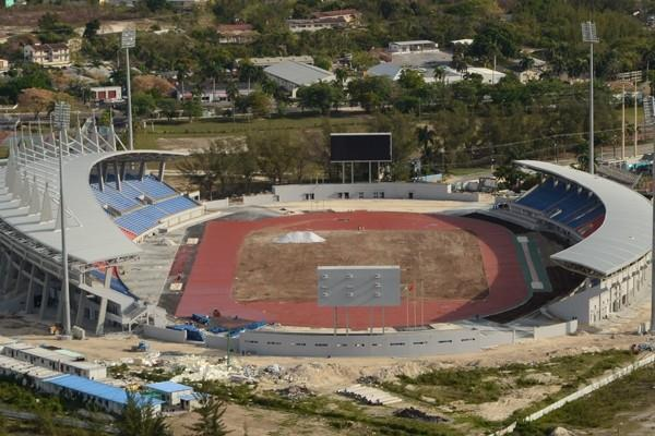 New national stadium for The Bahamas is constructed (Gerrino Saunders / www.bahamasathletics.com)