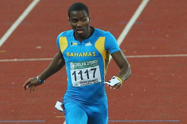 Sprinter Michael Mathieu of The Bahamas (Getty Images)