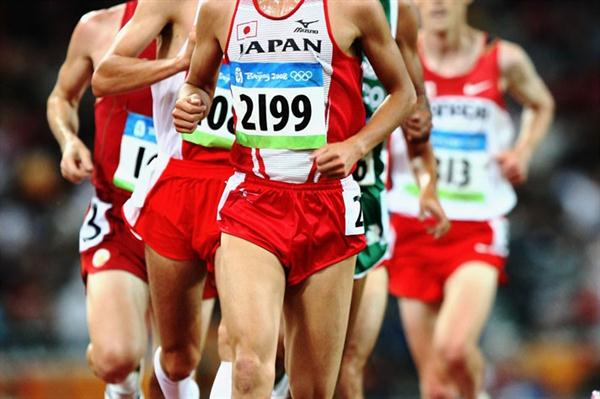 Kensuke Takezawa at the Beijing Olympics (Getty Images)