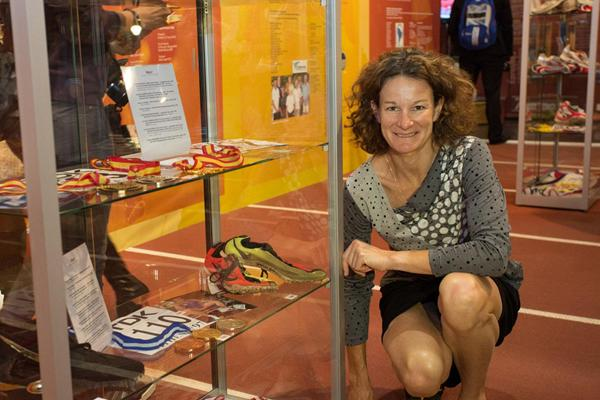 Sonia O'Sullivan - IAAF Centenary Historic Exhibition ()